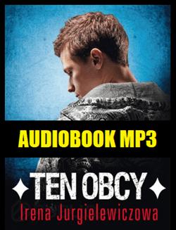 Audiobook Ten Obcy - okładka książki audio.