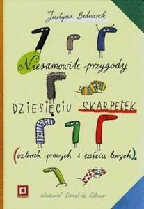 Niesamowite przygody dziesięciu skarpetek - Justyna Bednarek (książka)