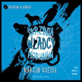 Okładka audiobooka skrzynia władcy piorunów - Marcin Kozioł