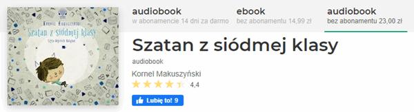 Wybierz ebooka lub audiobooka szatan z siódmej klasy